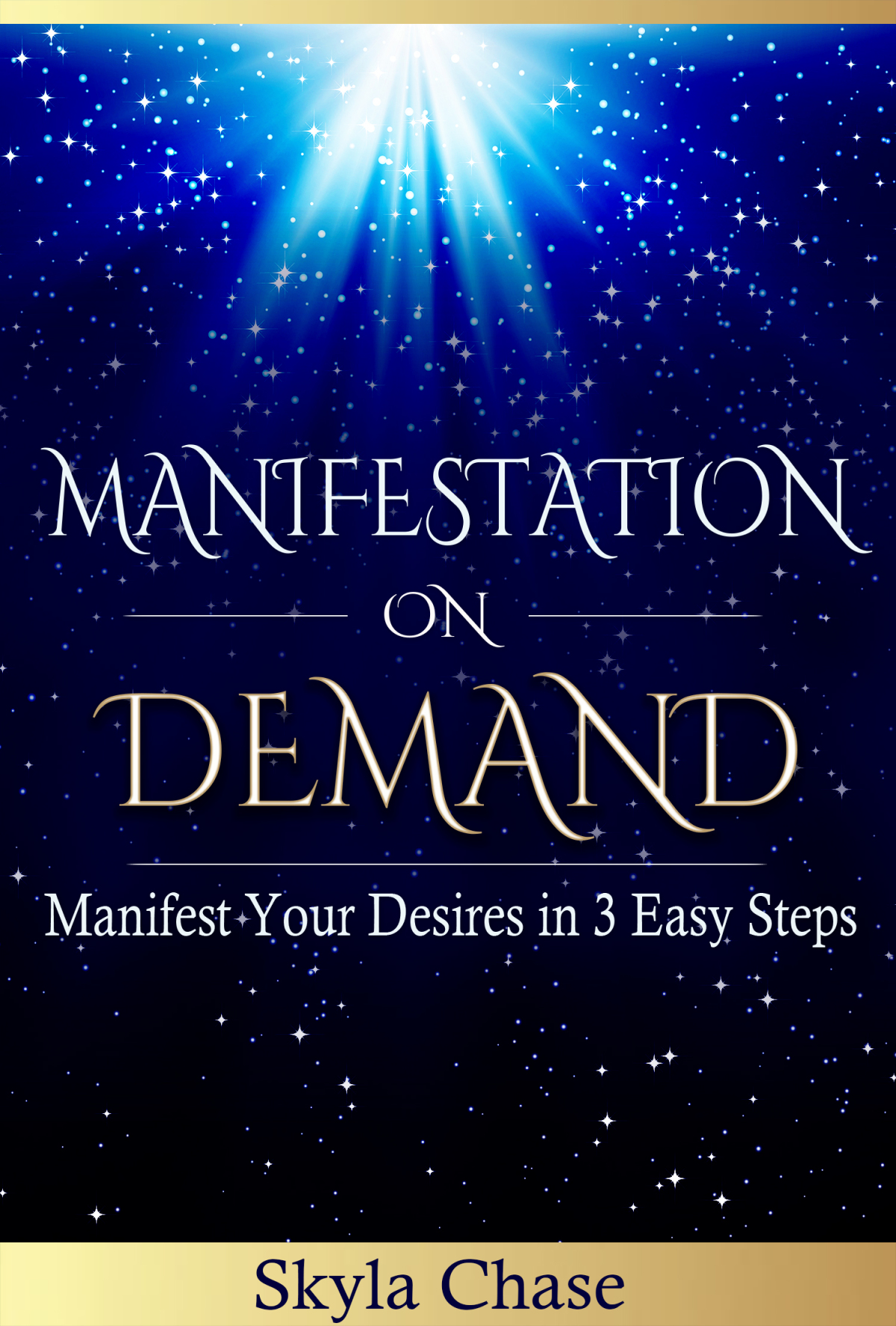 Manifestation On Demand Ebook Cover