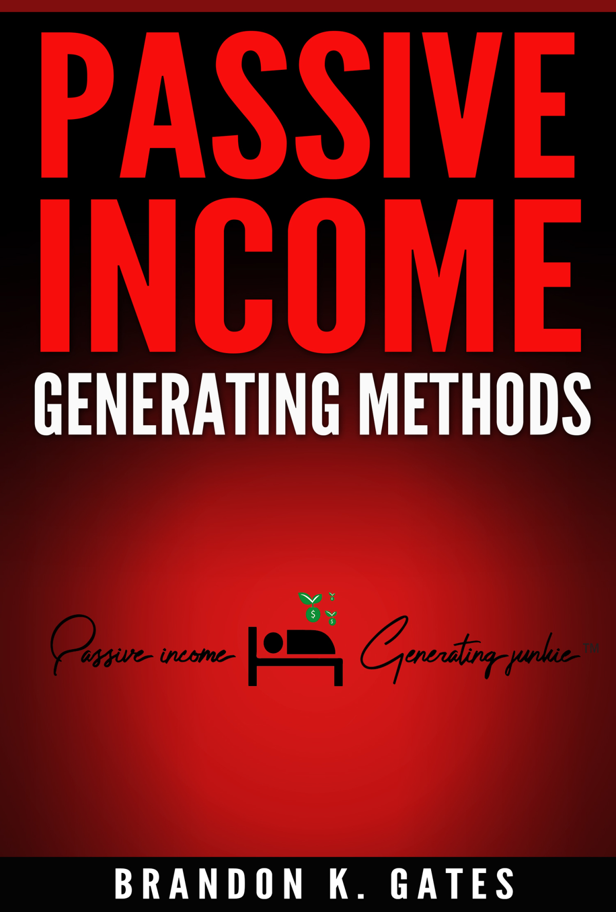 Passive Income Generating Methods Ebook Cover