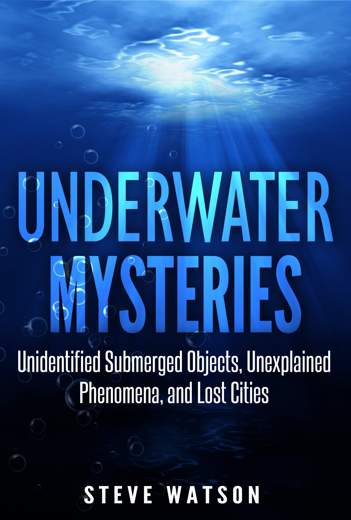 Underwater Mysteries Ebook Cover